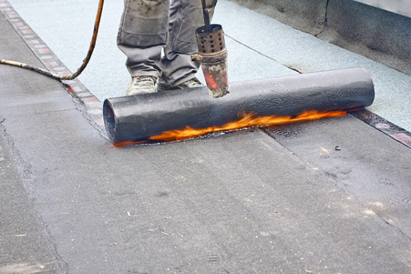flat roof Commercial Roofing